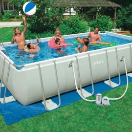 Piscina Intex ultra frame 5,5 mt