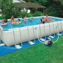 Piscina Intex ultra frame 7mt