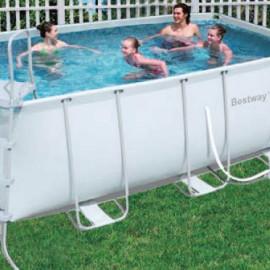 Kit piscina rettangolare steel special frame bestway