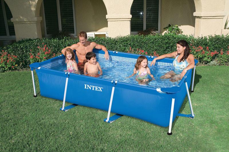 58983 piscina intex frame rettangolare cm 220x150x60 offerte piscine interrate - Offerte piscine intex ...