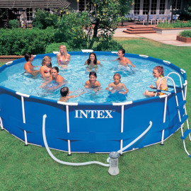 56932 piscina intex easy set rotonda cm 366x91 offerte for Piscina intex rotonda
