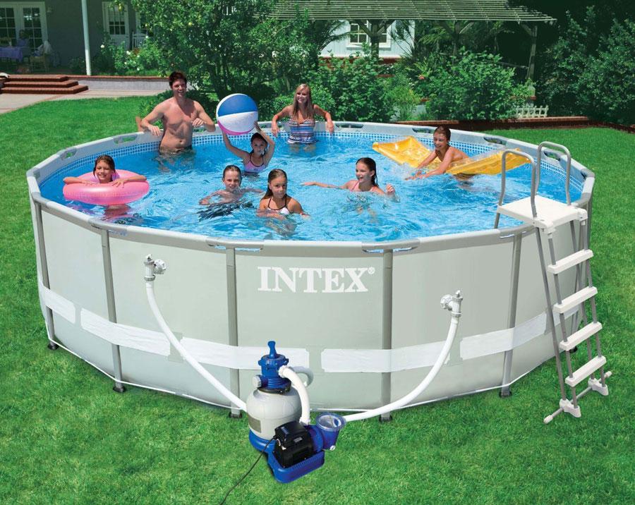 54294 piscina intex rotonda ultra frame offerte piscine interrate - Offerte piscine intex ...