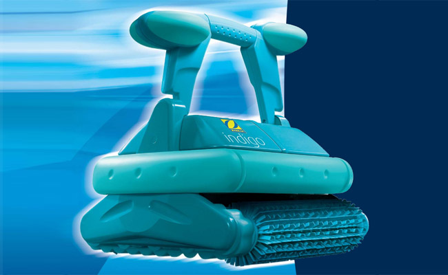 indigo zodiac robot pulitore automatico per piscina. Black Bedroom Furniture Sets. Home Design Ideas