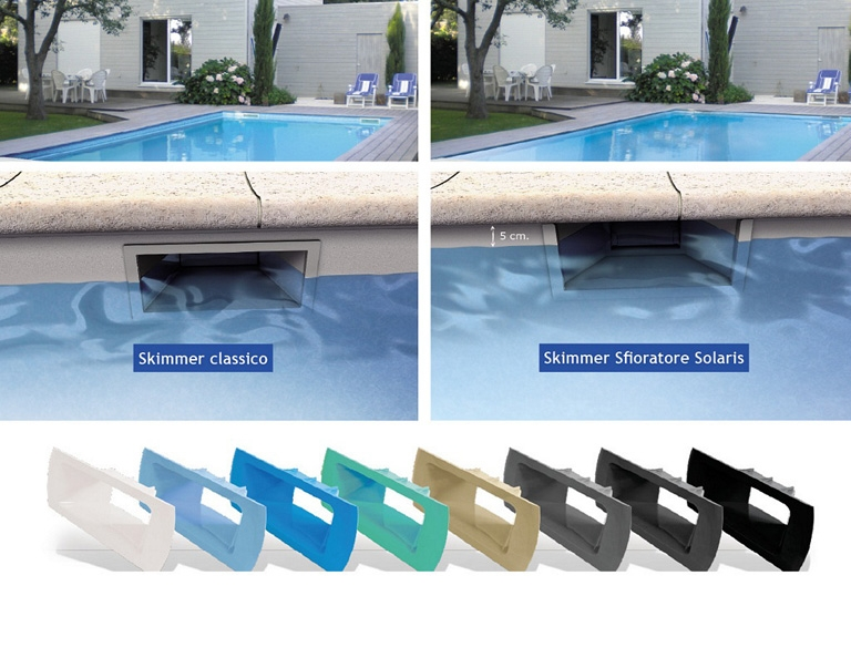 Skimmer up solaris offerte piscine interrate - Piscina skimmer ...