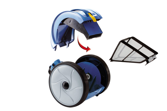 vortex 1 zodiac robot pulitore elettrico per piscine. Black Bedroom Furniture Sets. Home Design Ideas