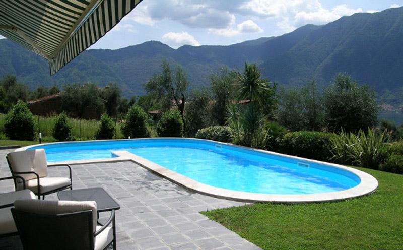 Piscine interrate alcune installazioni offerte piscine for Offerte piscine