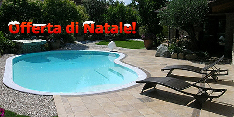Promozione natale euro tutto incluso piscine interrate - Piscina interrata prezzo ...